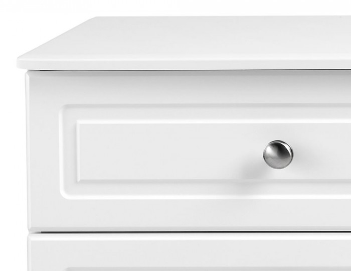 Toliara White 8 Drawer Wide Chest