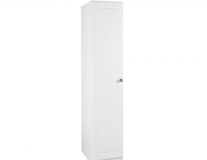 Toliara White 1 Door Wardrobe