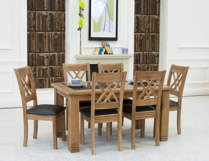 dining tables murray solid oak and granite dining table and chairs