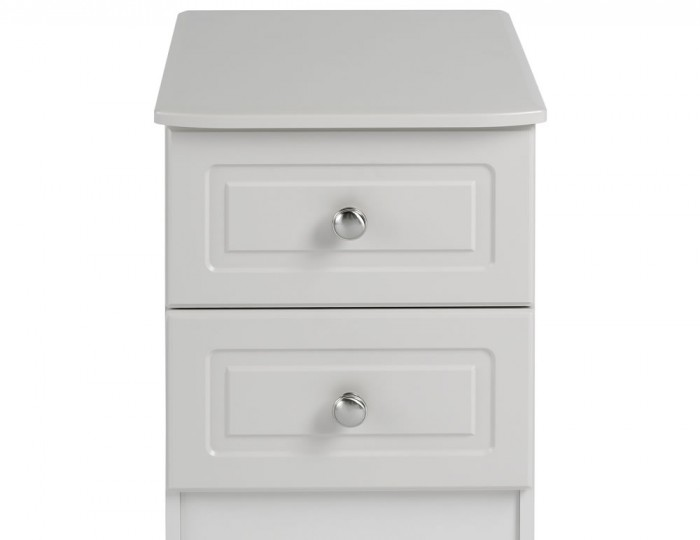 Toliara Cashmere 2 Drawer Bedside Chest
