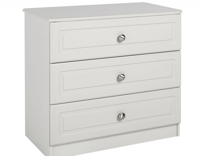 Toliara Cashmere 3 Drawer Chest