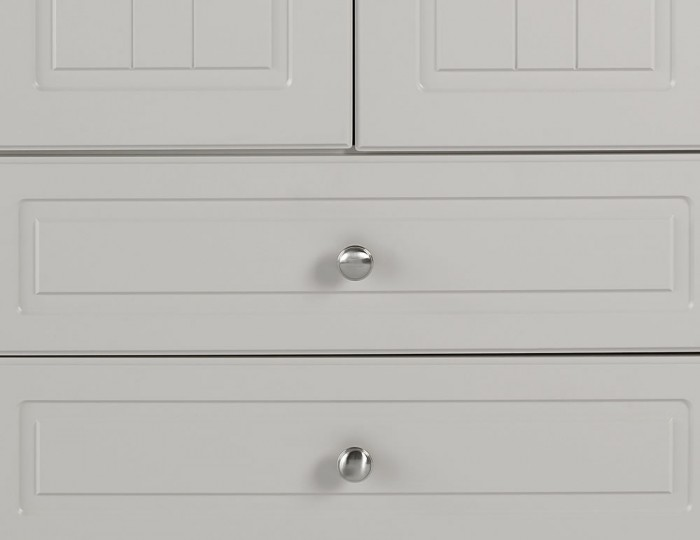 Toliara Cashmere 2 Door 2 Drawer Wardrobe