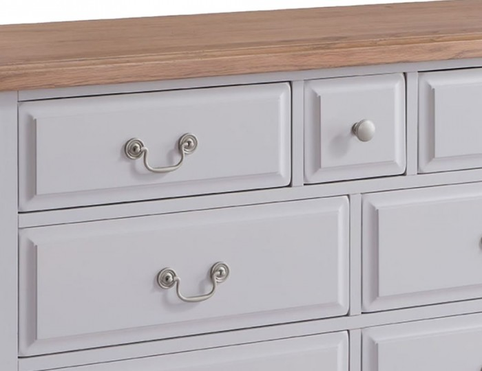 Everette Two-Tone 3+4 Drawer Chest