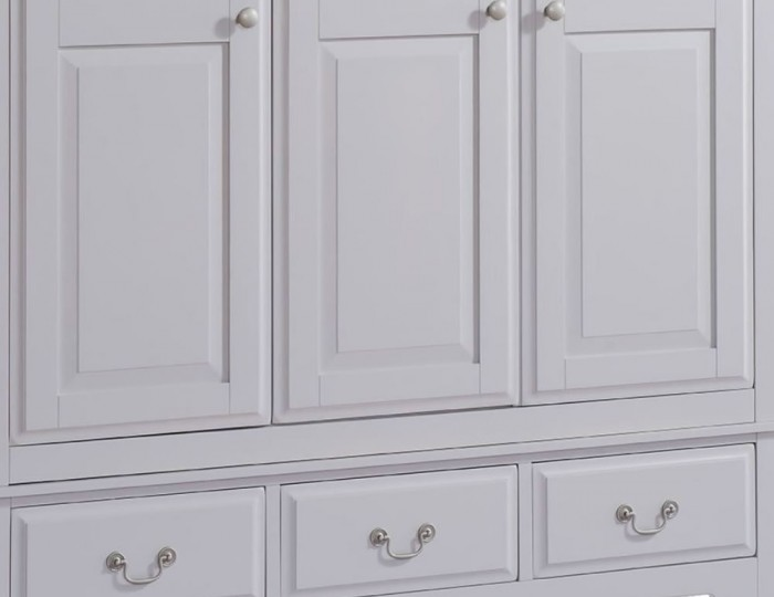 Everette Two-Tone 3 Door 3 Drawer Wardrobe