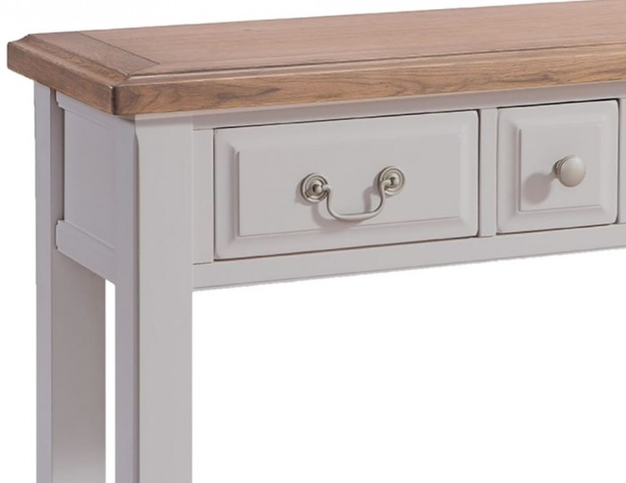 Everette Two-Tone Console Table