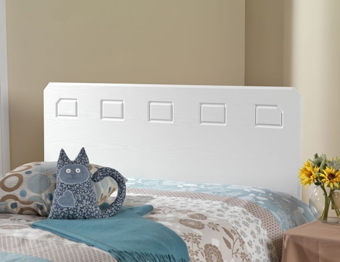 Miami White Headboard