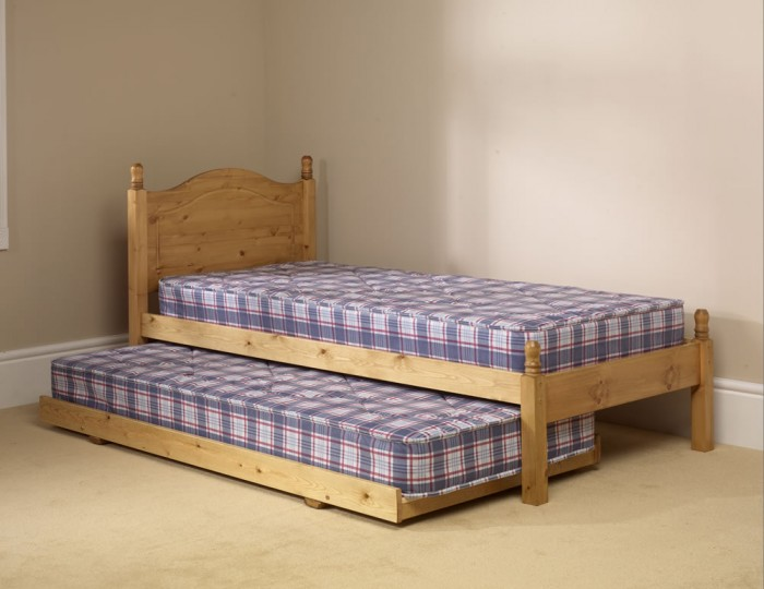 Guest Pine Wooden Bed