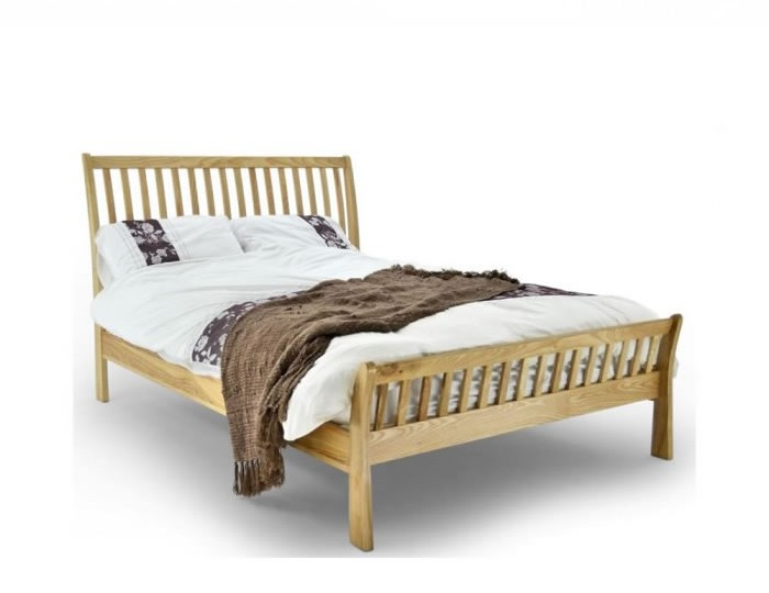Ferris Solid Oak Bed Frame