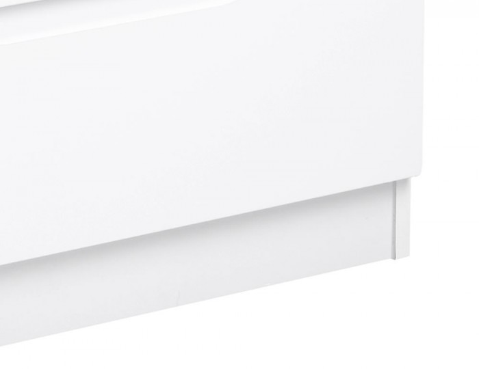 Trend 4 Drawer Bed Box White High Gloss Chest