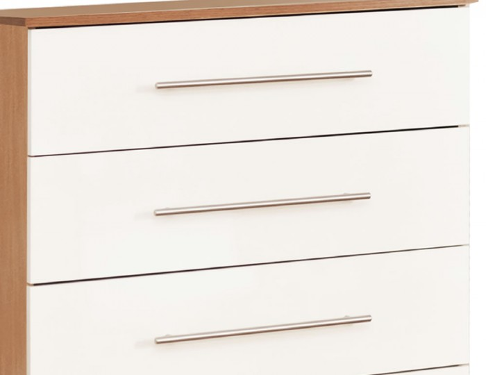 Watson High Gloss 5 Drawer Chest