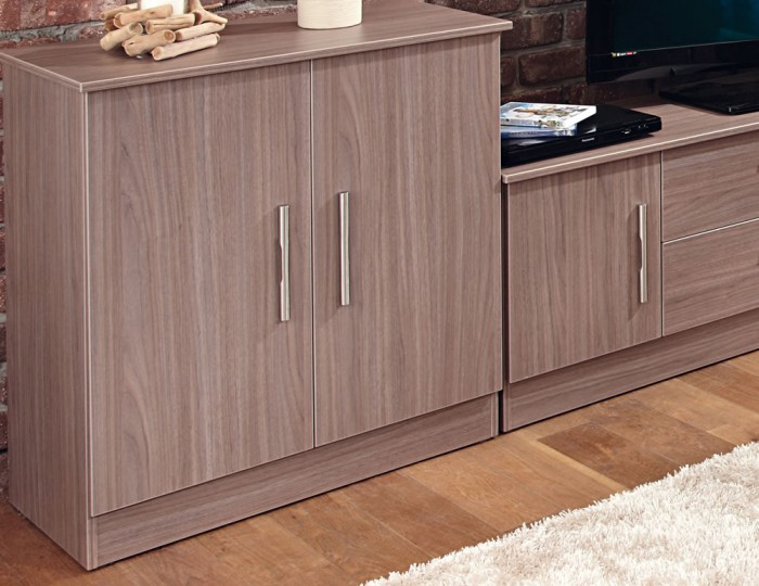 Wexford Toronto Walnut 2 Door Sideboard