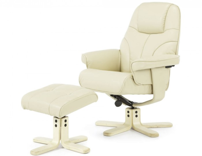 furniture chairs recliner chairs rosenberg cream faux leather