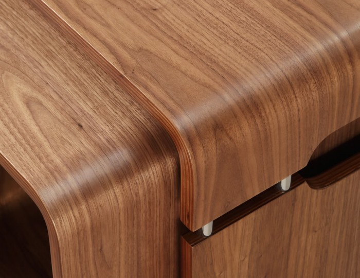 Trezela Walnut Nest of Tables