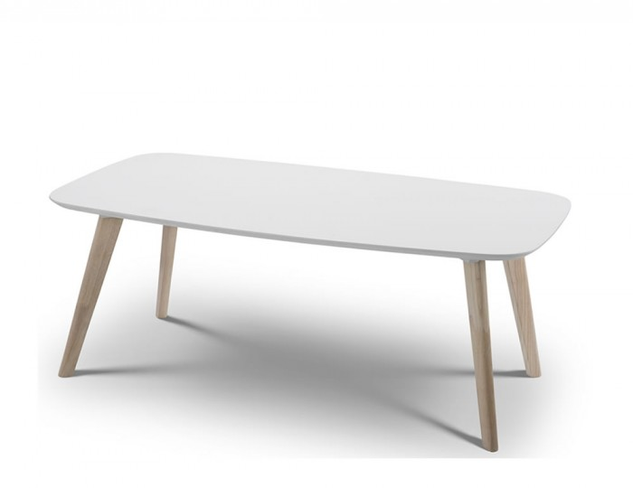 Madeira White Lacquer Coffee Table
