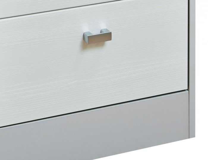 Jeremiah White and Kaschmir 2 Drawer Bedside Chest