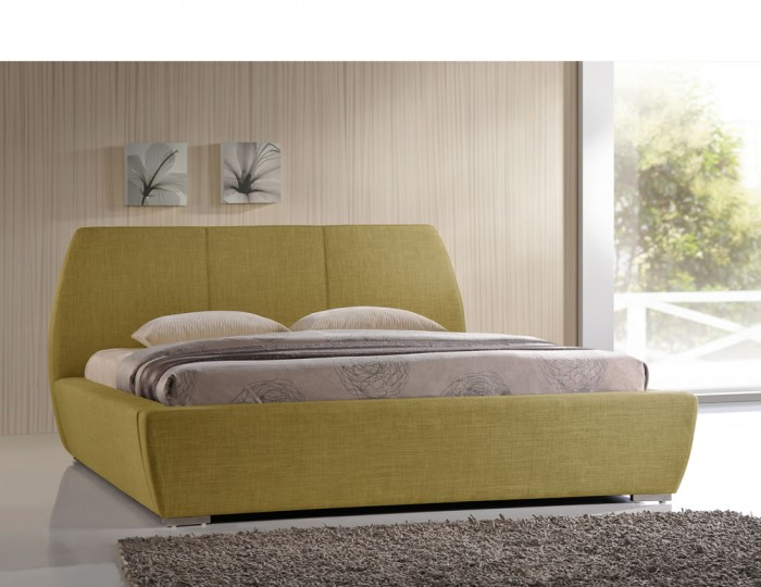 Marco Green Upholstered Bed Frame