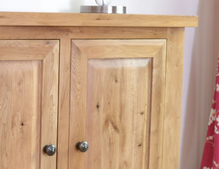 Roche Solid Oak 2 Door Cupboard
