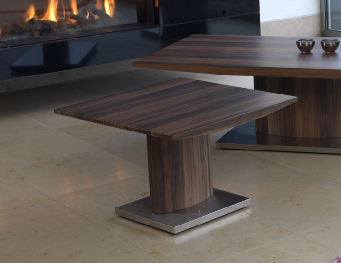 Antonello Walnut Lamp Table