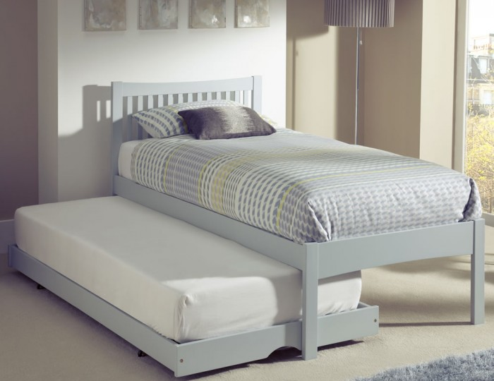 Maya Hevea Grey Guest Bed