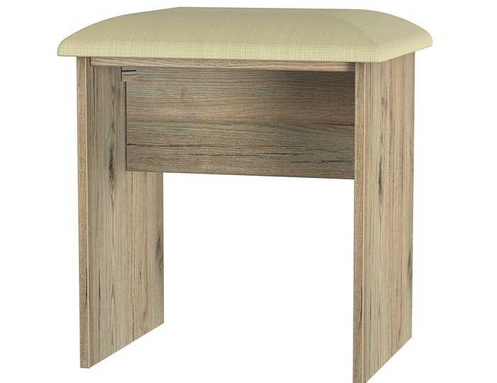 Catalonia Porcelain and Bordeaux Oak Double Dressing Table