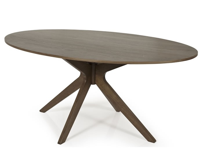 Barnstable Walnut Oval Dining Table