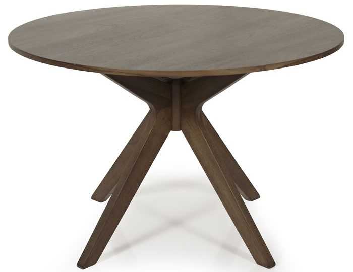 Barnstable Walnut Round Dining Table and Chairs