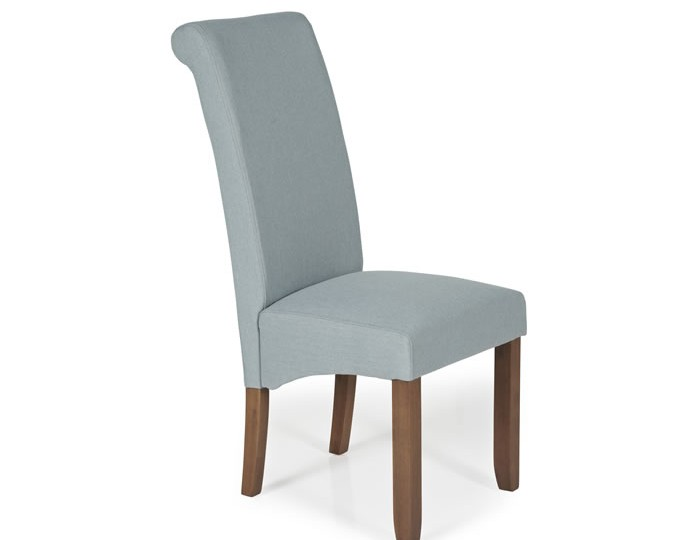Barnstable Archer Fabric and Walnut Dining Chairs