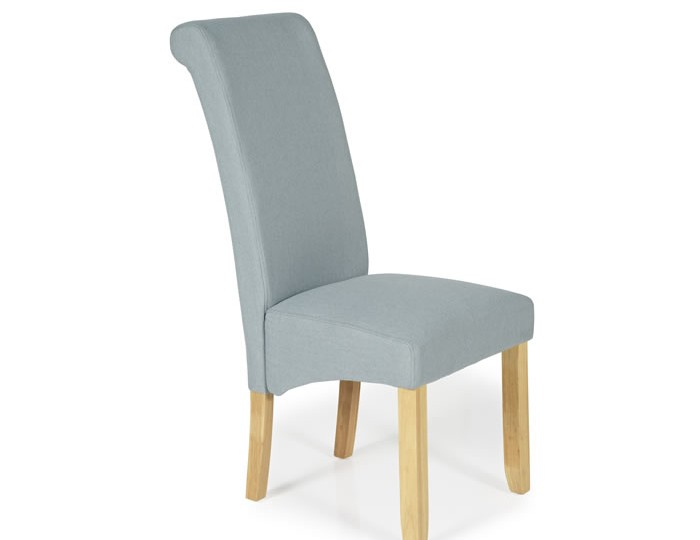 Barnstable Archer Fabric and Oak Dining Chairs
