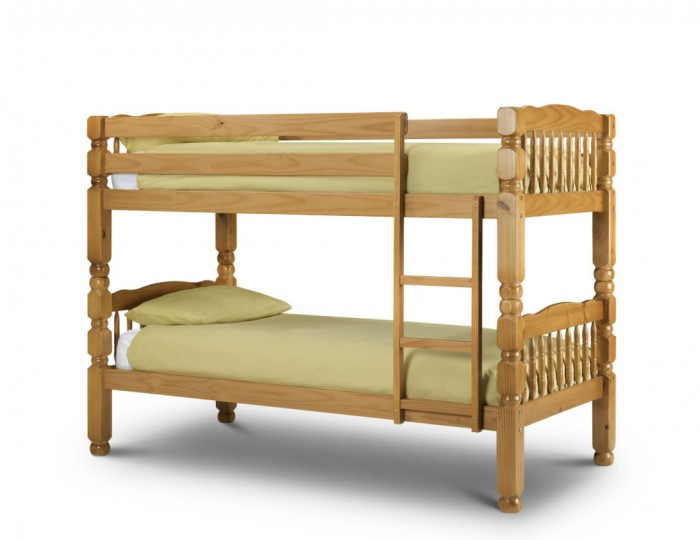 Chunky Solid Pine Bunk Bed
