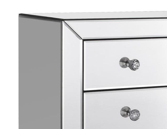 Cortese Mirrored 7 Drawer Chest