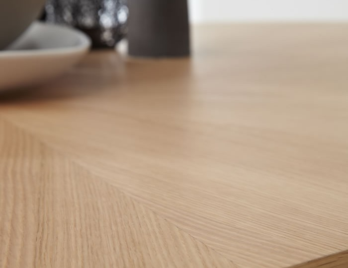 Bedford Oval Oak Dining Table