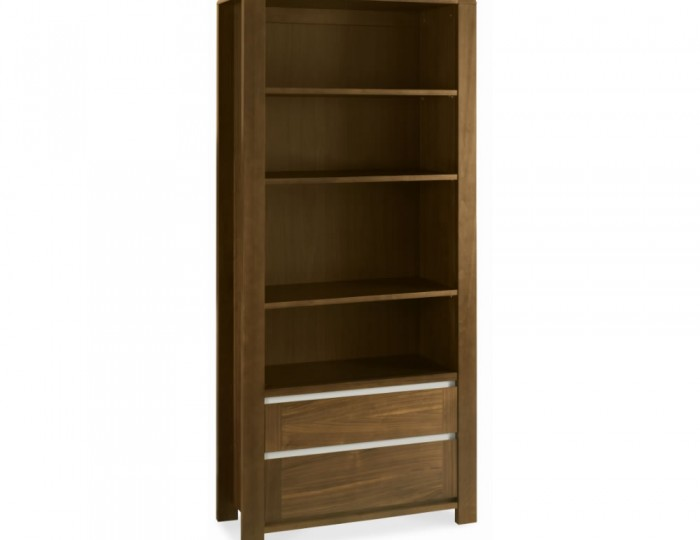 Petra Walnut Wide Bookcase *Special Offer*