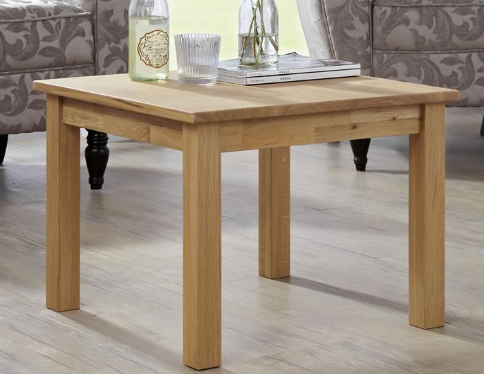 Harrington Oak Lamp Table