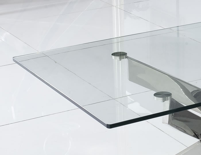 Linsdale Clear Glass Coffee Table