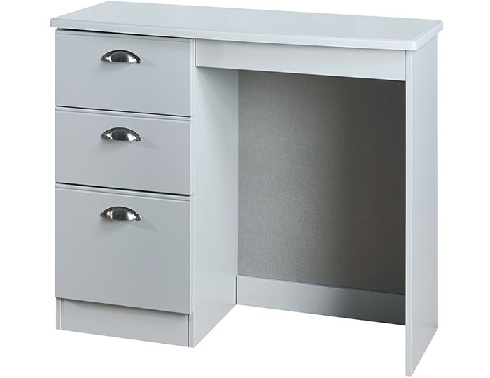 Yeadon Matt Grey Single Dressing Table