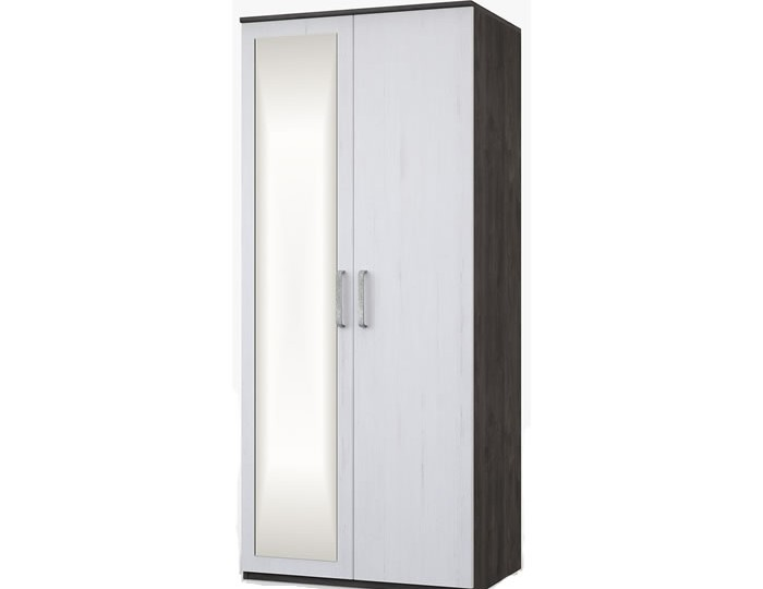 Abercorn Double Wardrobe with Mirror