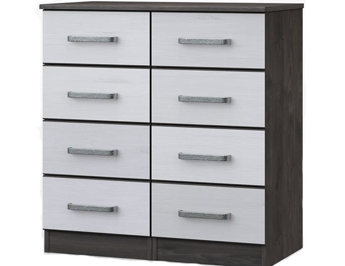 Abercorn 8 Drawer Narrow Chest