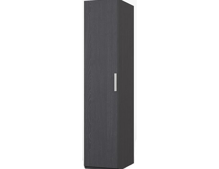 Elsham Graphite Single Wardrobe