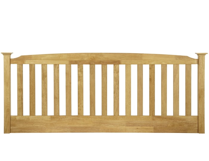 Eleanor Hevea Oak Headboard