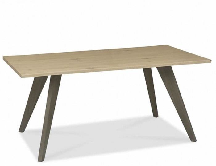 Cadell Aged & Weathered Oak Dining Table
