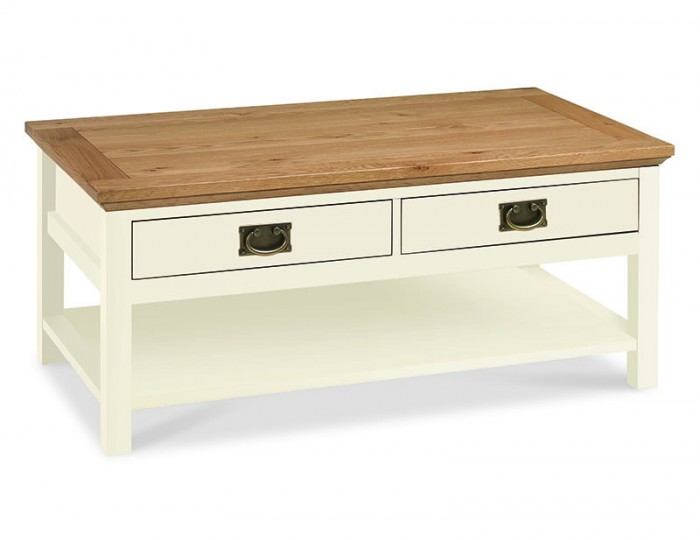 Provence Two Tone Coffee Table