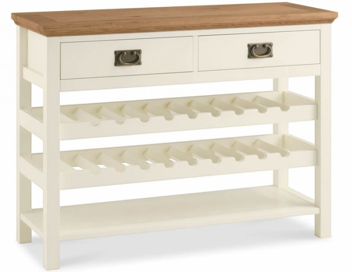 Provence Two-Tone Console Table