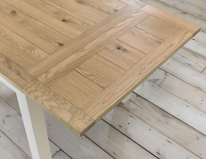 Provence Two Tone Small Extending Dining Table