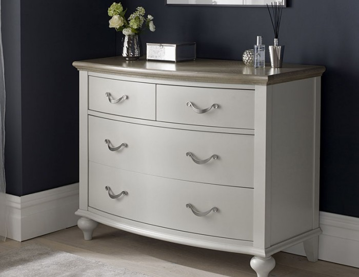 Montreux Grey Two-Tone 2+2 Drawer Chest