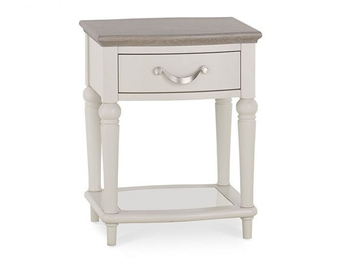 Montreux Grey Two-Tone Lamp Table