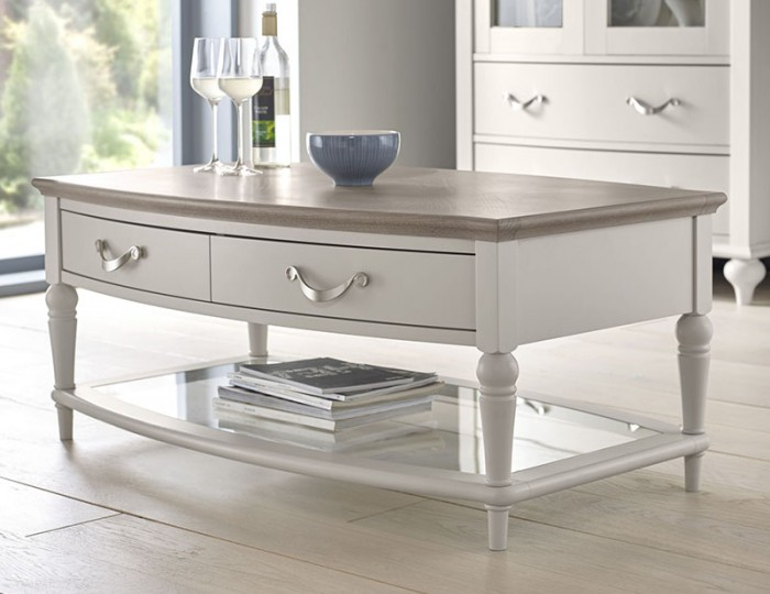 Montreux Grey Two-Tone Coffee Table