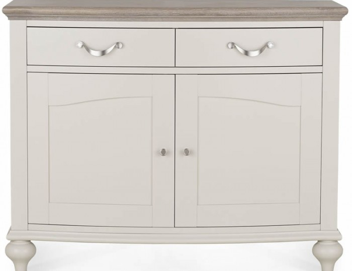 Montreux Grey Two-Tone Narrow Sideboard
