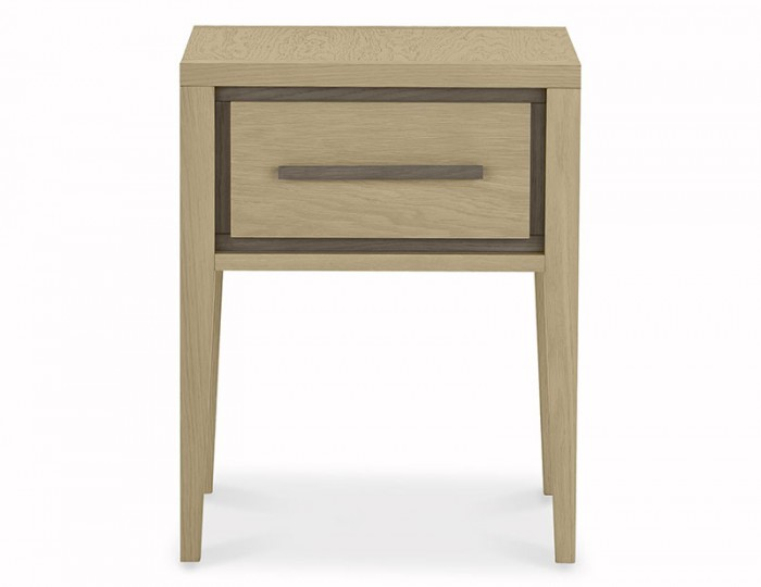 Rimini Weathered Oak 1 Drawer Nightstand