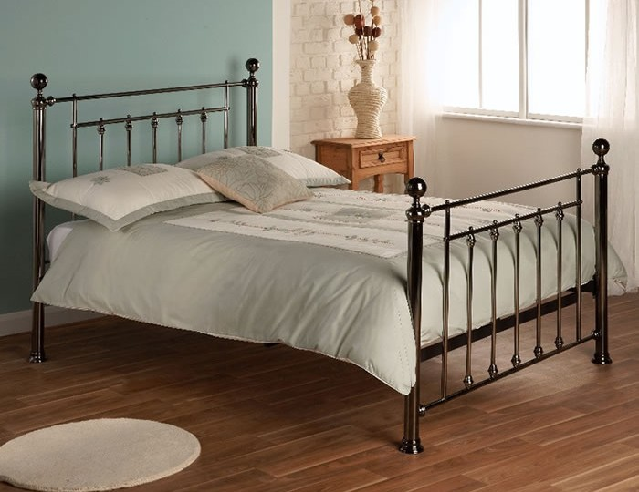 Libra Chrome Bed Frame