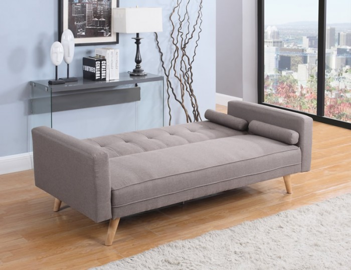 Jamestown 109cm Grey Fabric Sofa Bed